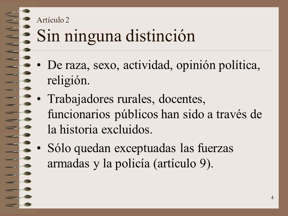 Artículo 2 Sin ninguna distinción