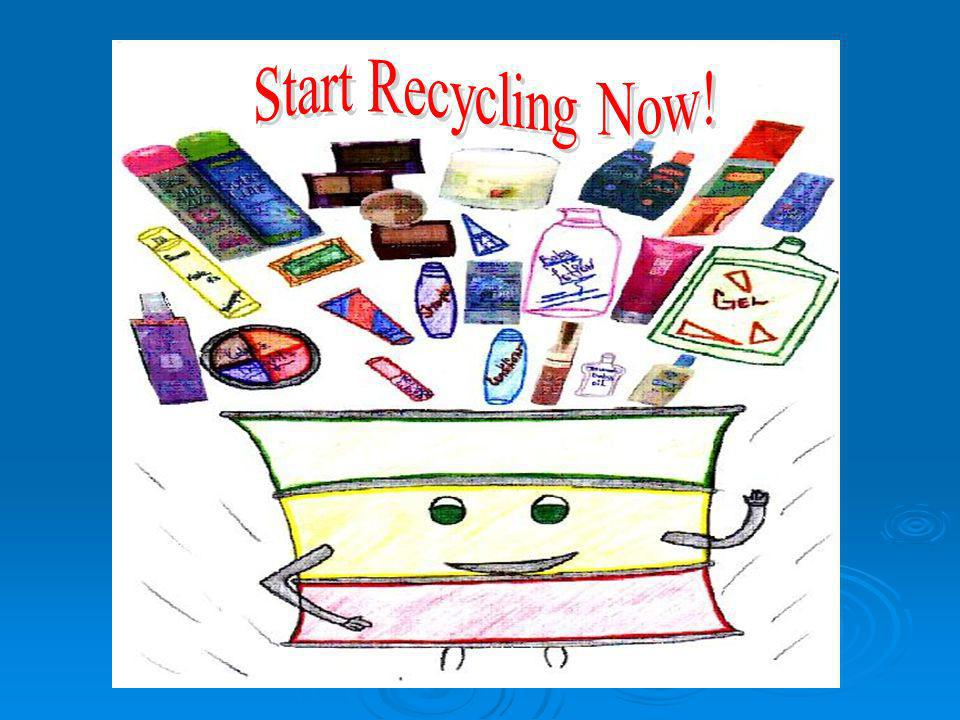 Start Recycling Now!