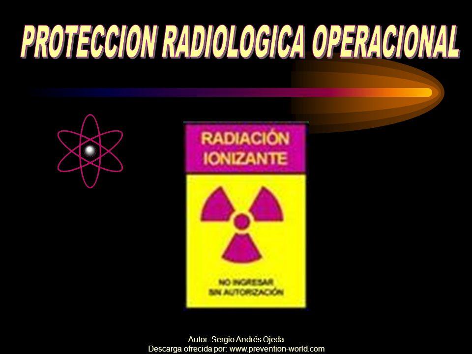 PROTECCION RADIOLOGICA OPERACIONAL