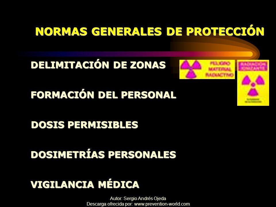 NORMAS GENERALES DE PROTECCIÓN