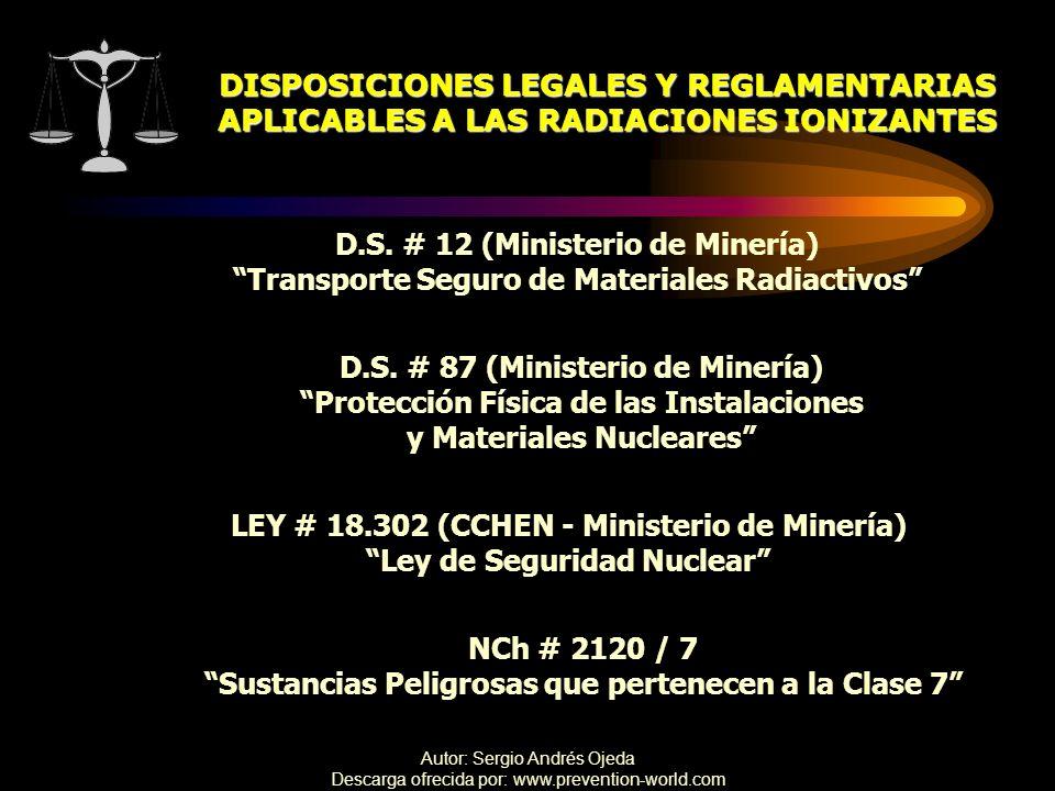 DISPOSICIONES LEGALES Y REGLAMENTARIAS