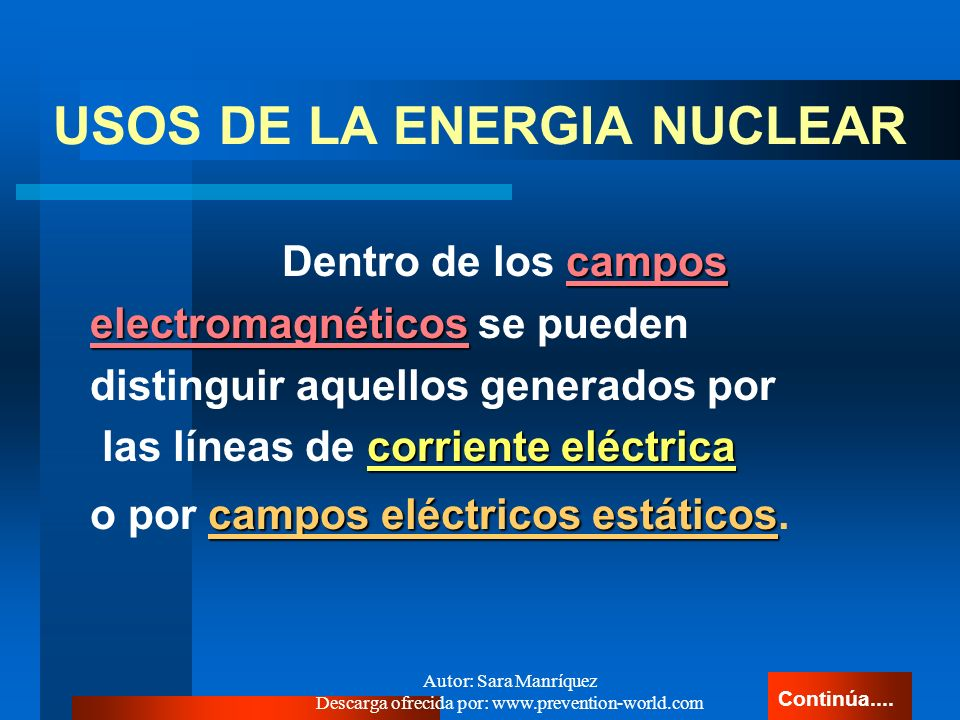 USOS DE LA ENERGIA NUCLEAR
