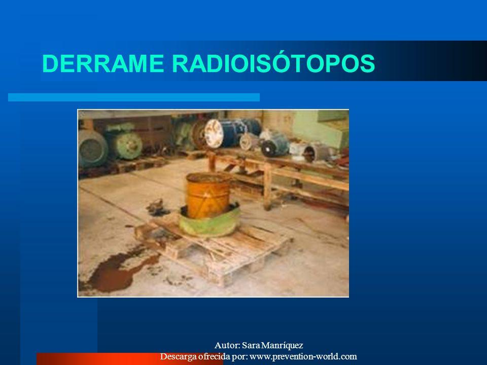 DERRAME RADIOISÓTOPOS