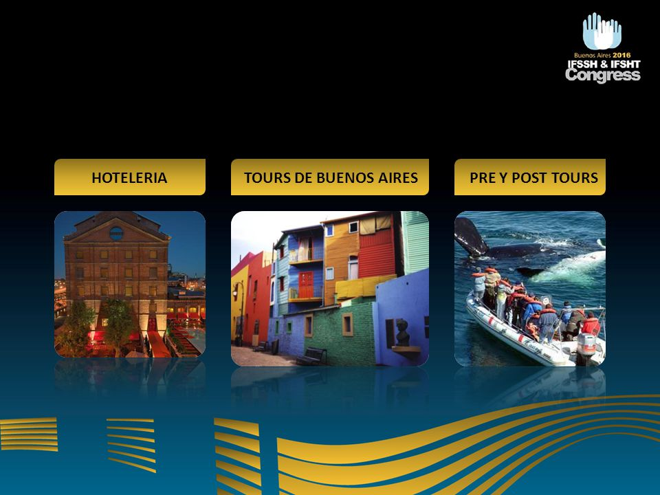HOTELERIA TOURS DE BUENOS AIRES PRE Y POST TOURS