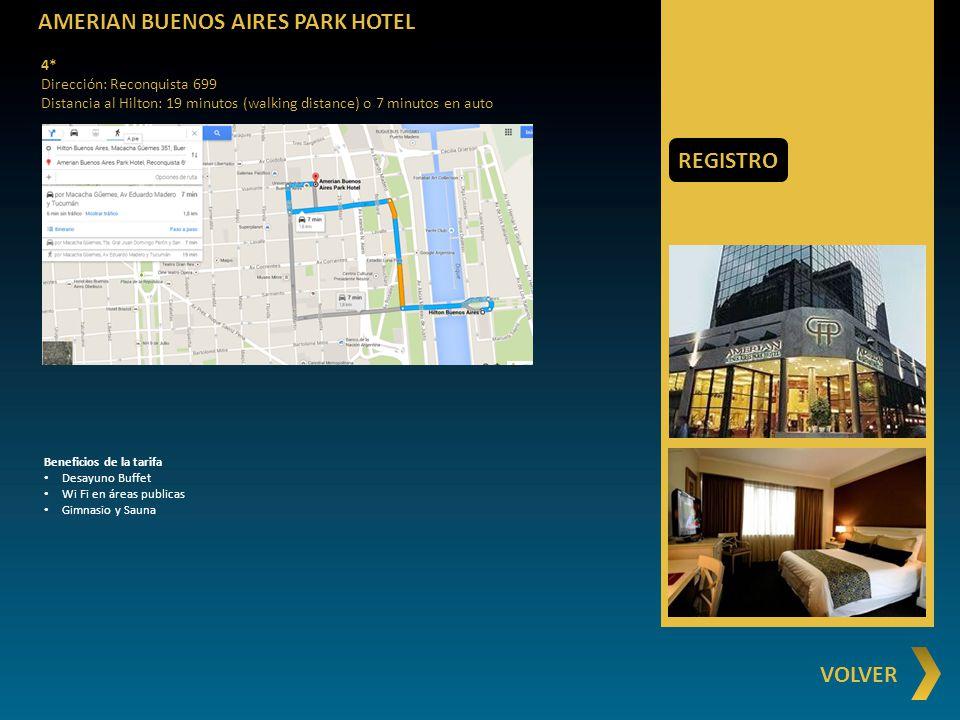 AMERIAN BUENOS AIRES PARK HOTEL
