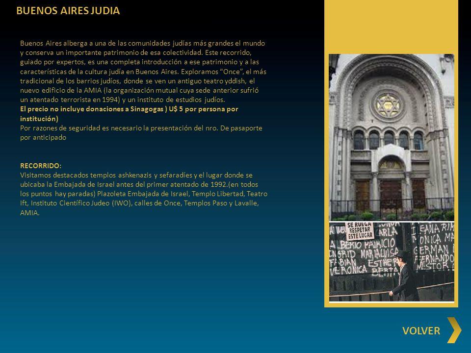 BUENOS AIRES JUDIA VOLVER