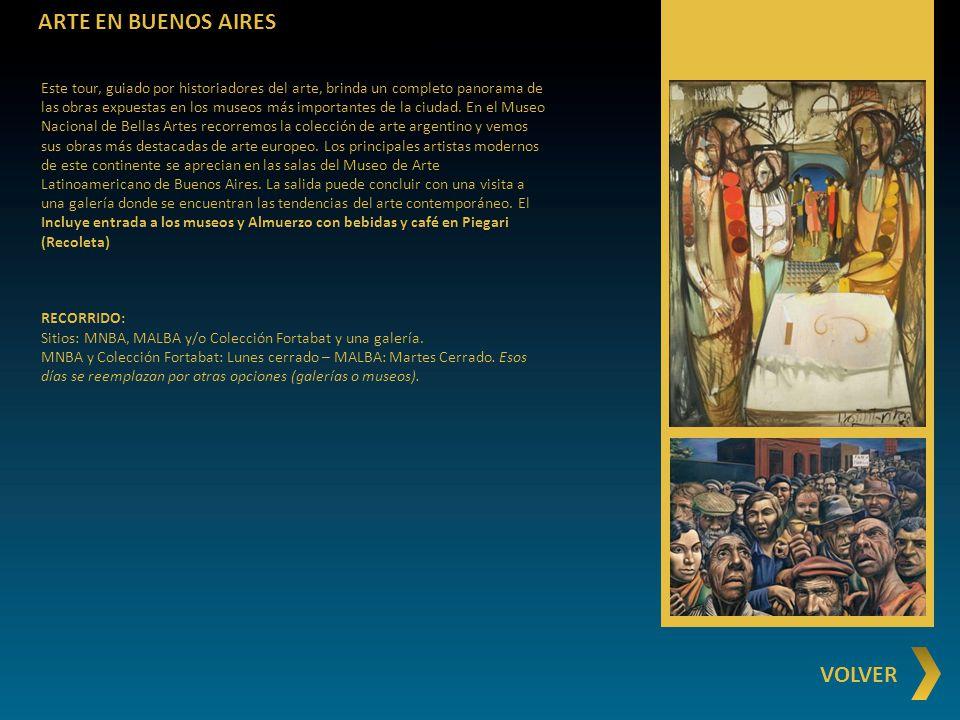 ARTE EN BUENOS AIRES VOLVER