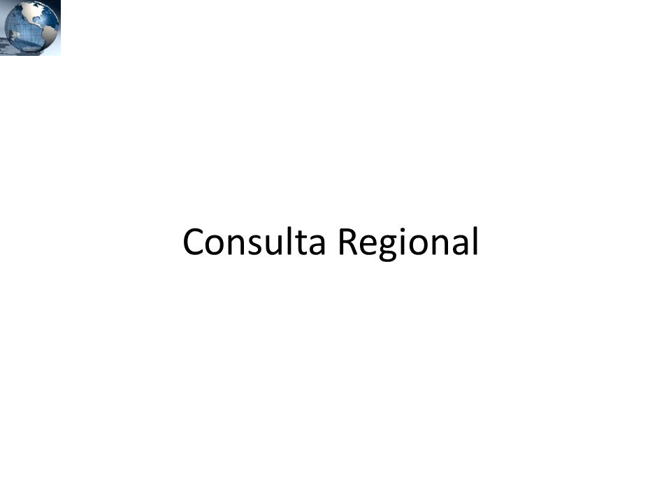 Consulta Regional