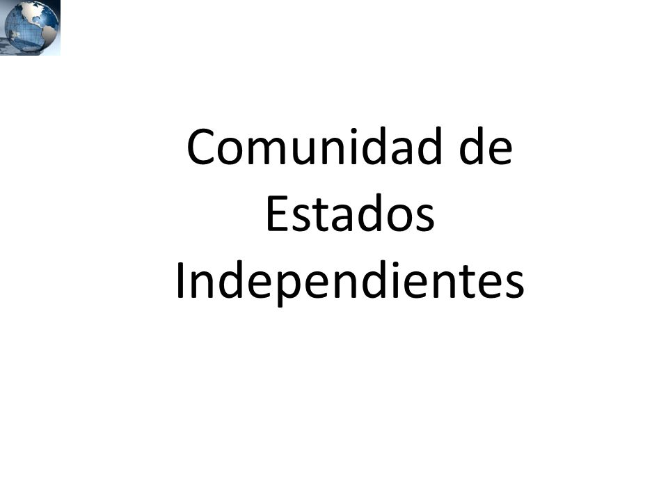 Comunidad de Estados Independientes