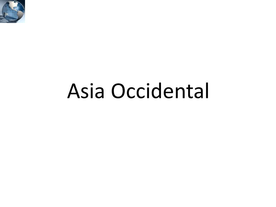 Asia Occidental