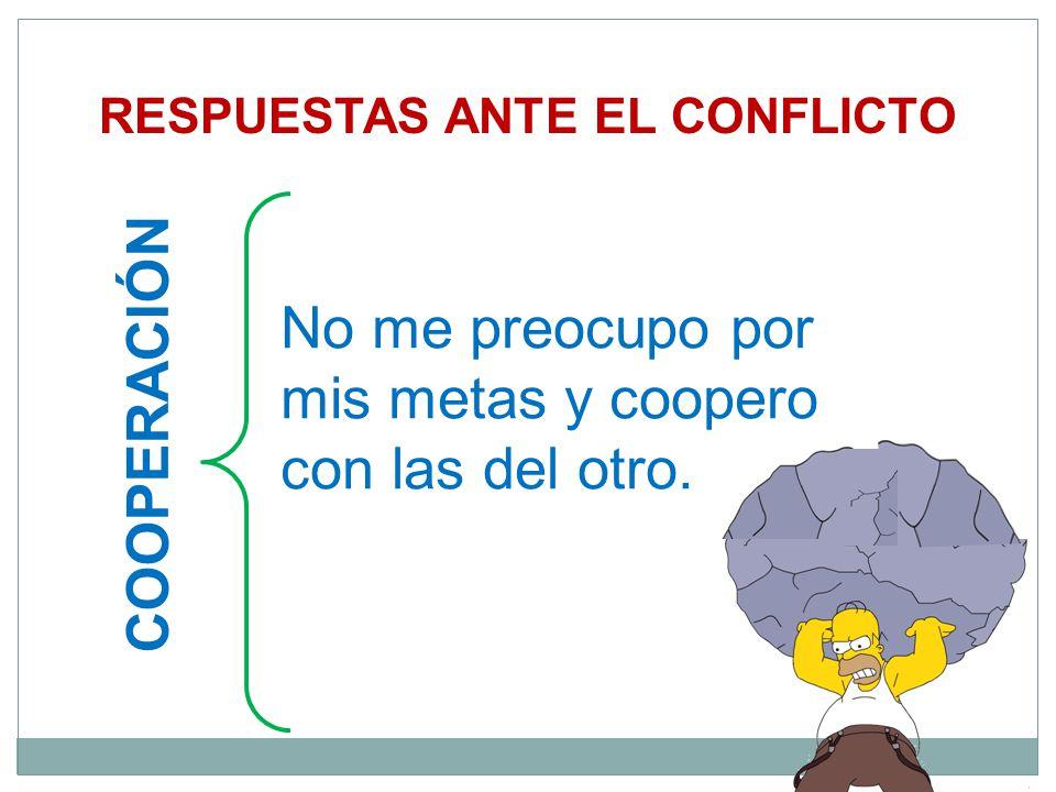 RESPUESTAS ANTE EL CONFLICTO