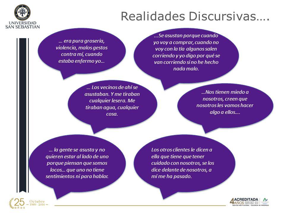 Realidades Discursivas….