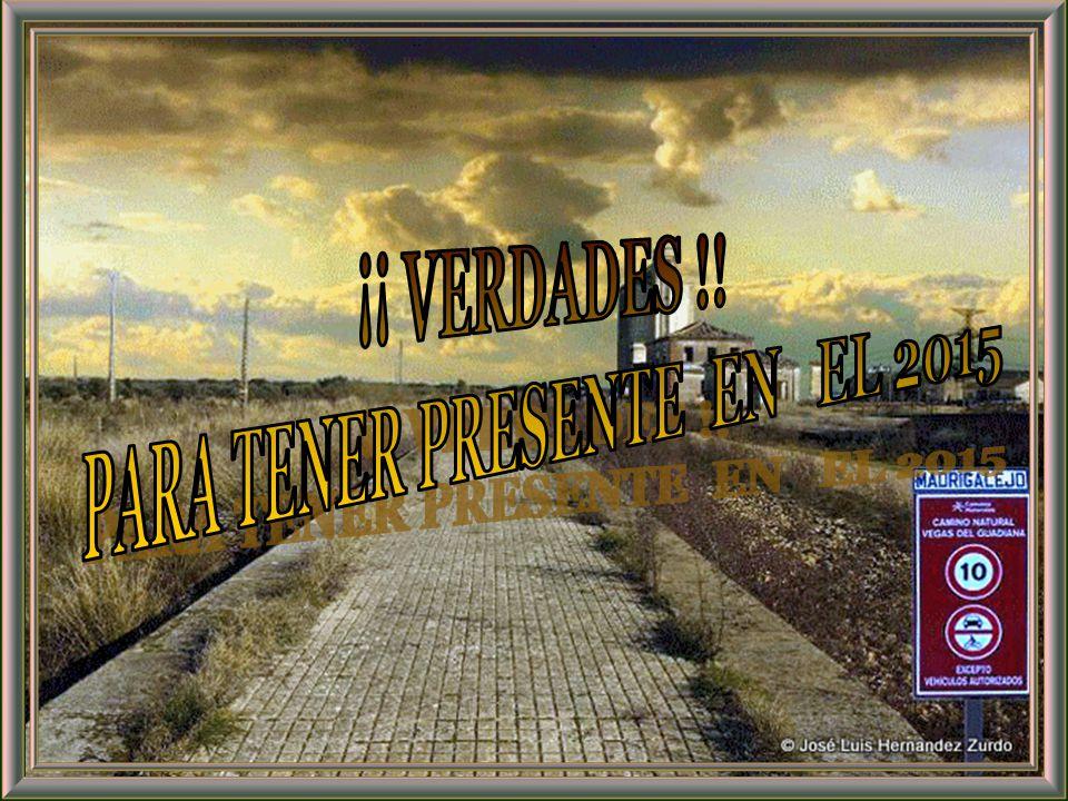 PARA TENER PRESENTE EN EL 2015