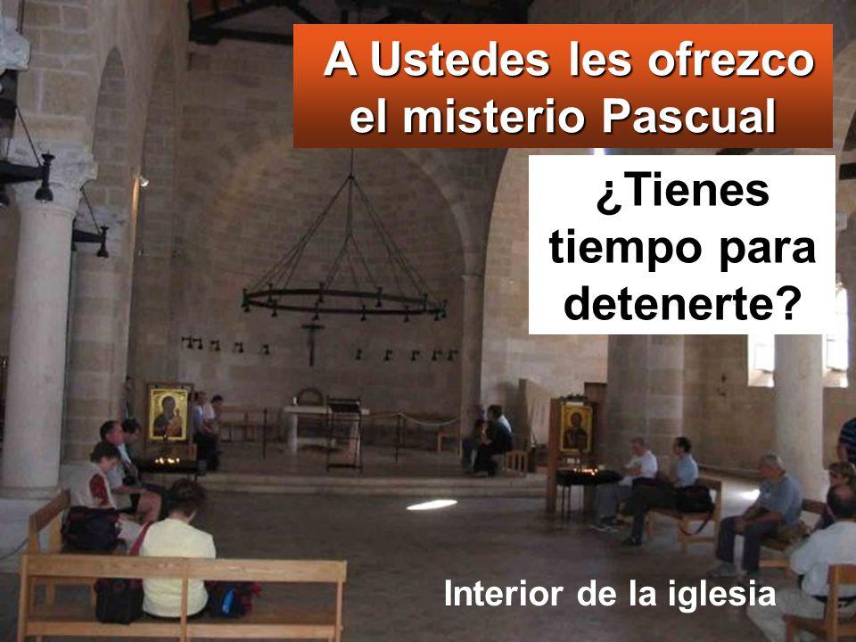 A Ustedes les ofrezco el misterio Pascual