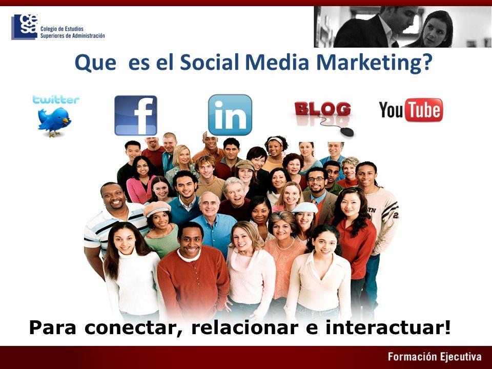 Que es el Social Media Marketing