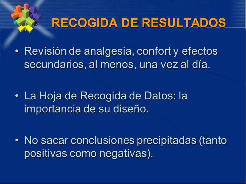 RECOGIDA DE RESULTADOS
