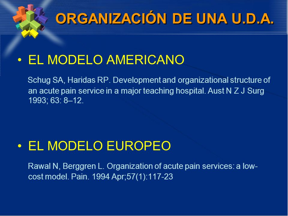 ORGANIZACIÓN DE UNA U.D.A.