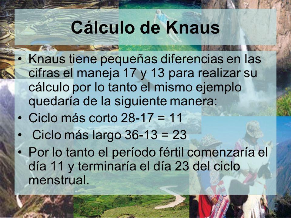 Cálculo de Knaus