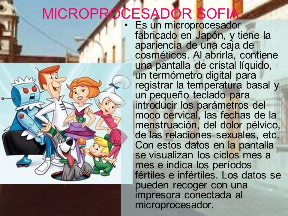 MICROPROCESADOR SOFIA