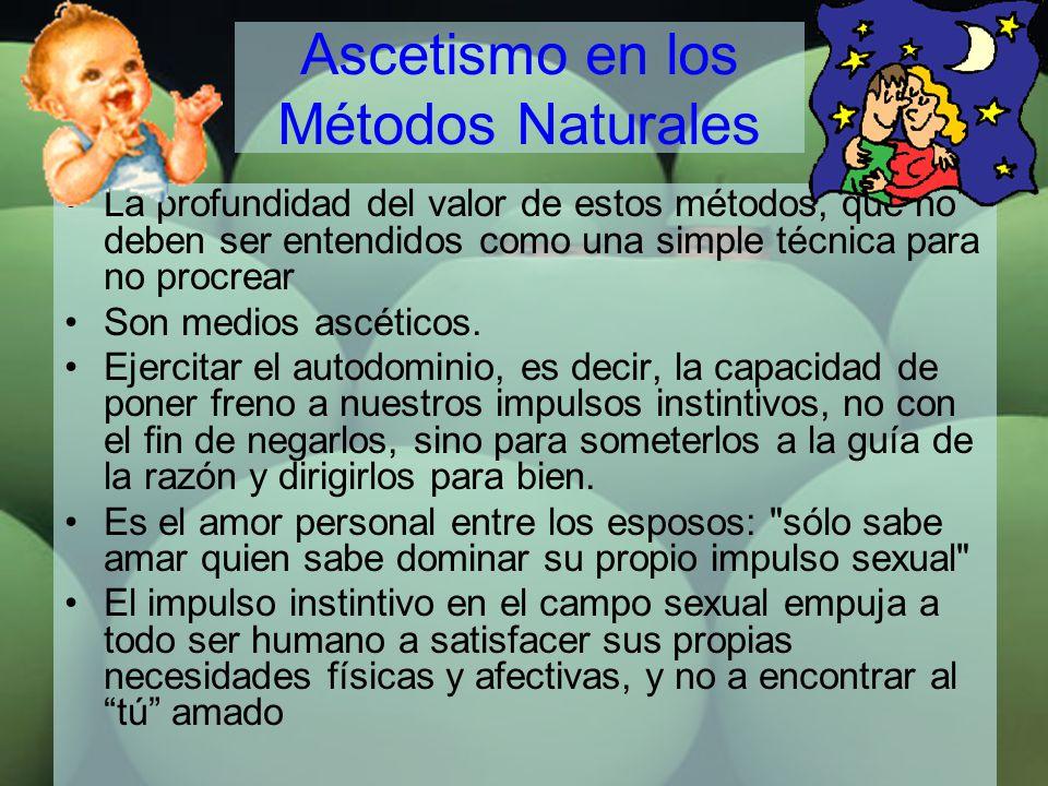 Ascetismo en los Métodos Naturales