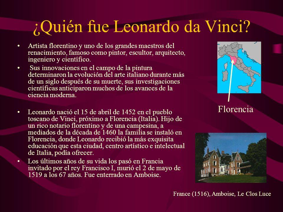 ¿Quién fue Leonardo da Vinci