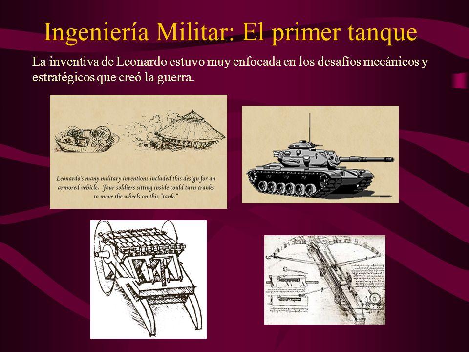 Ingeniería Militar: El primer tanque