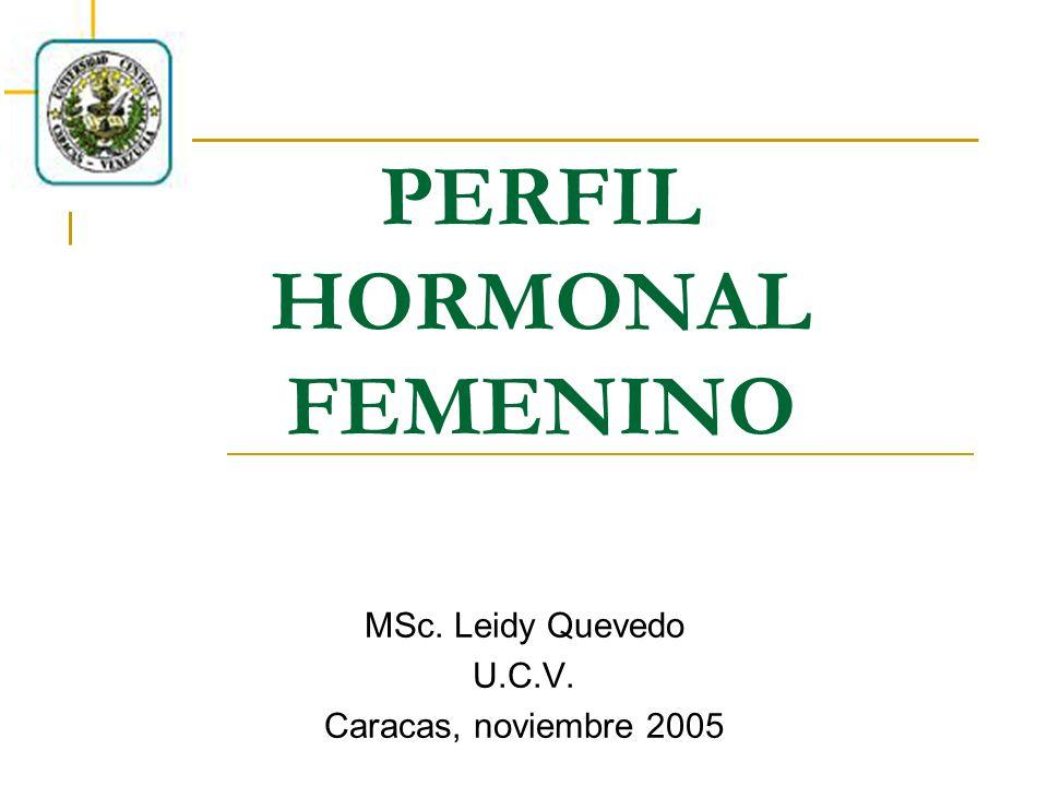 PERFIL HORMONAL FEMENINO