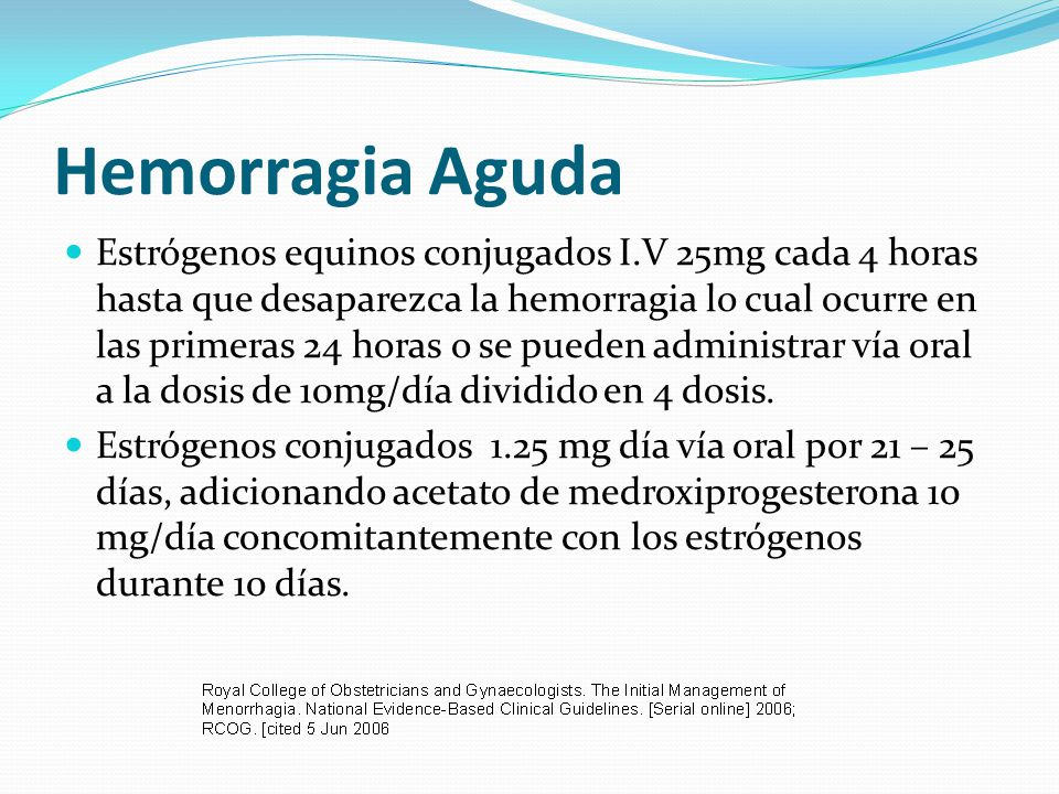 Hemorragia Aguda