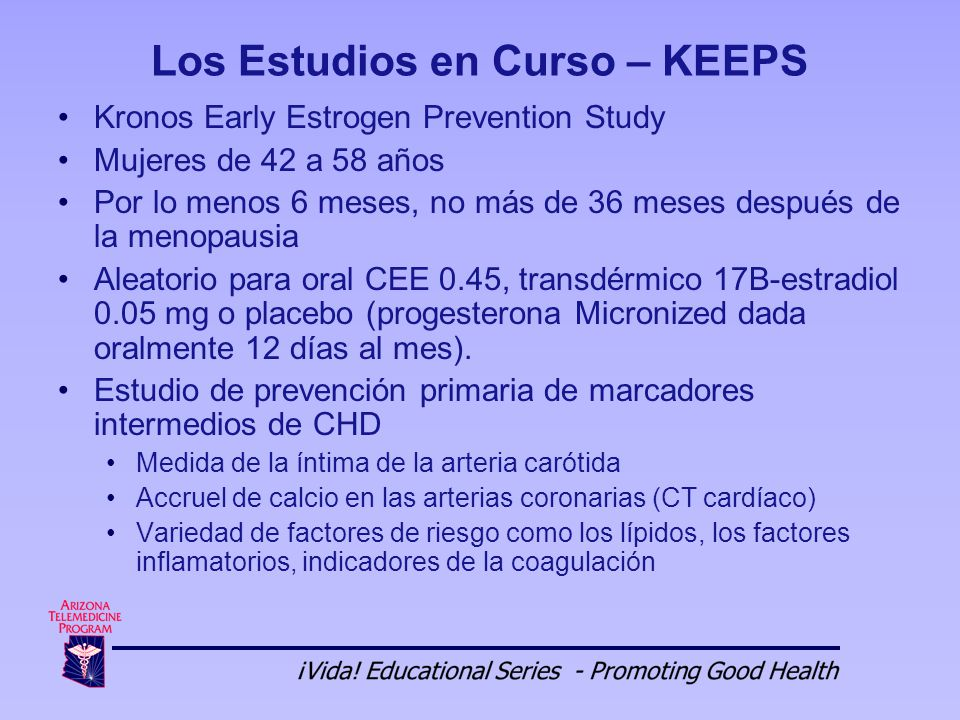 The Keeps and Elite hormone therapy studies - Harvard Health