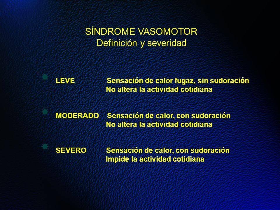 Definición y severidad