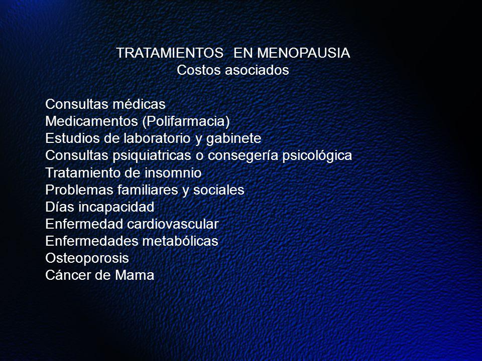 TRATAMIENTOS EN MENOPAUSIA