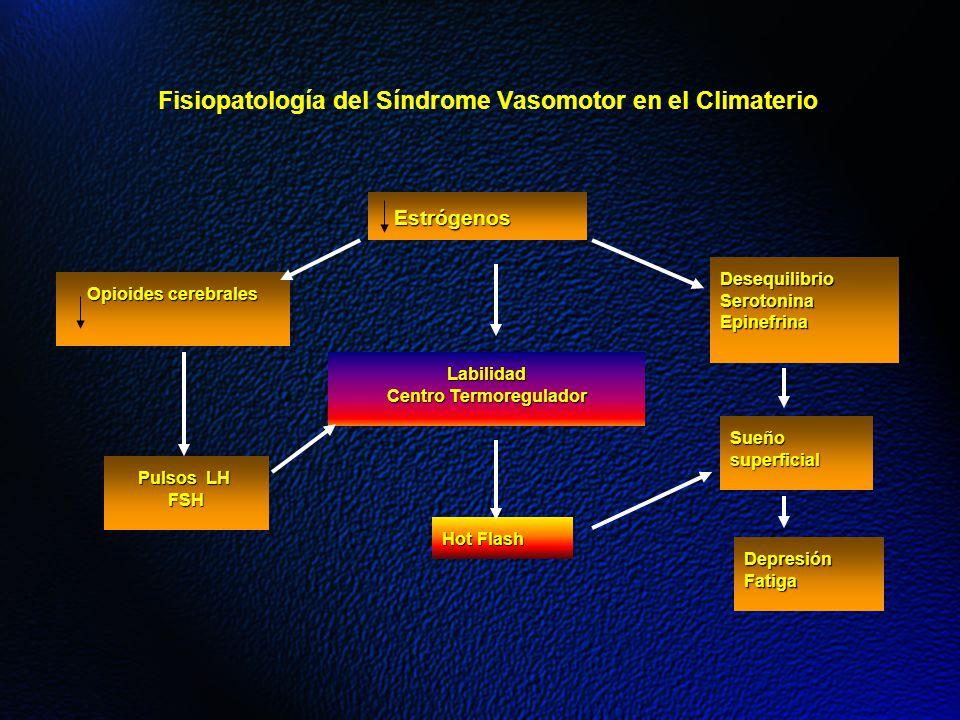 Fisiopatología del Síndrome Vasomotor en el Climaterio