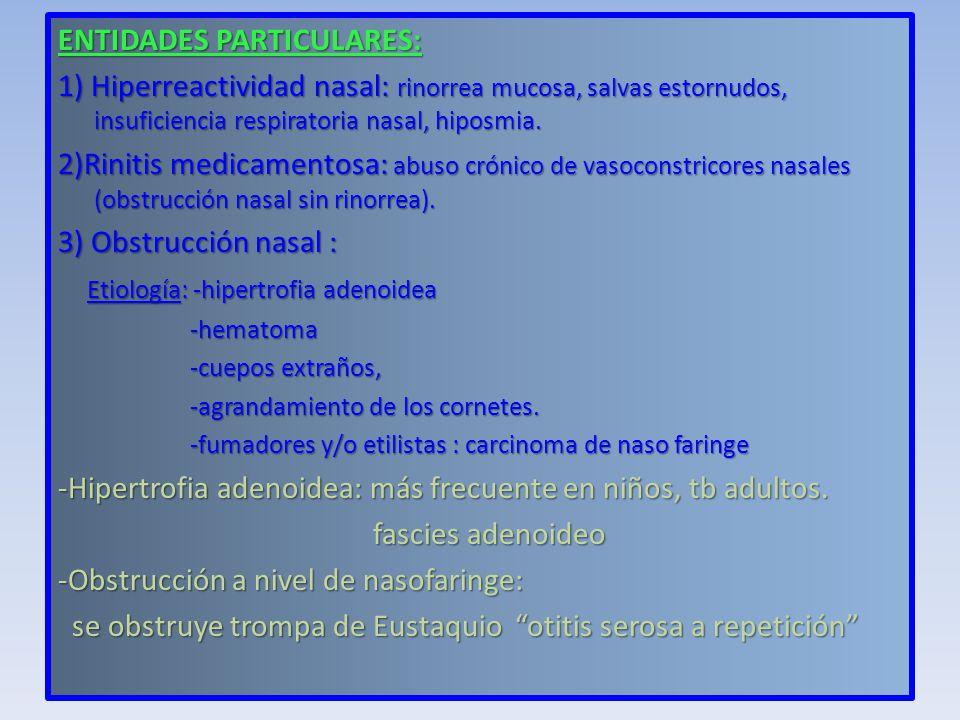 ENTIDADES PARTICULARES: