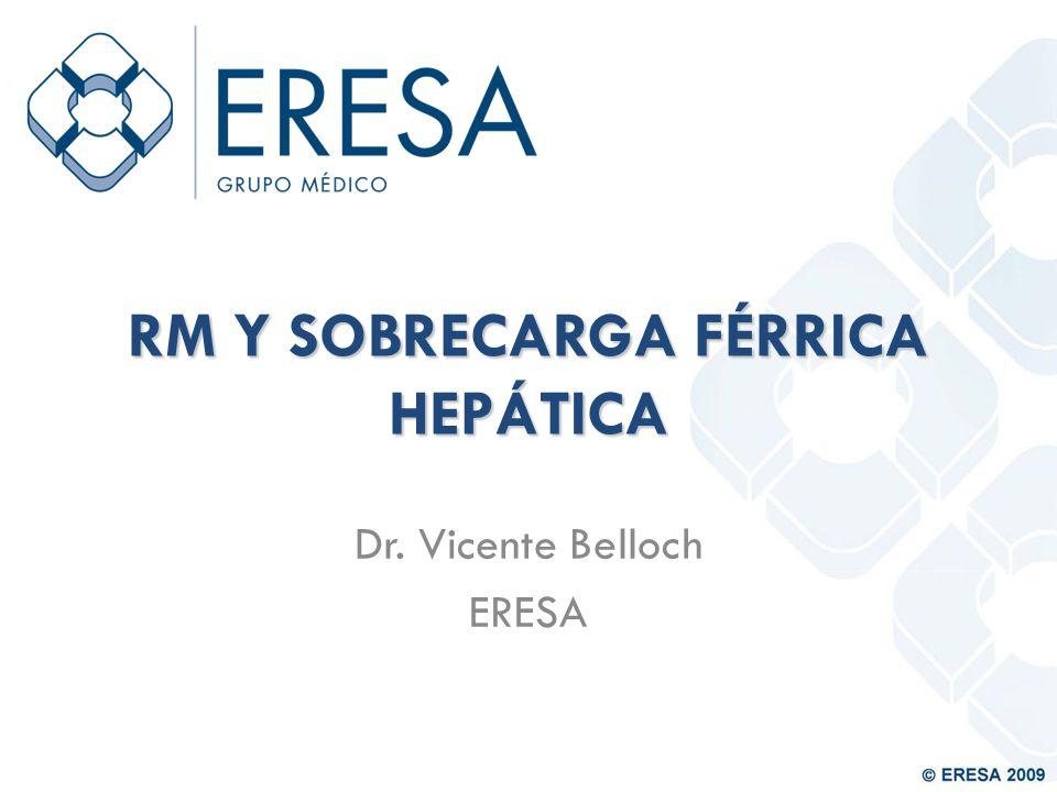 RM Y SOBRECARGA FÉRRICA HEPÁTICA