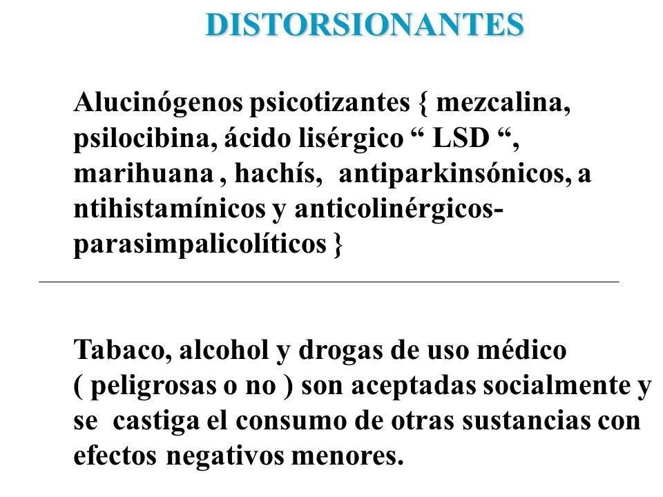 DISTORSIONANTES