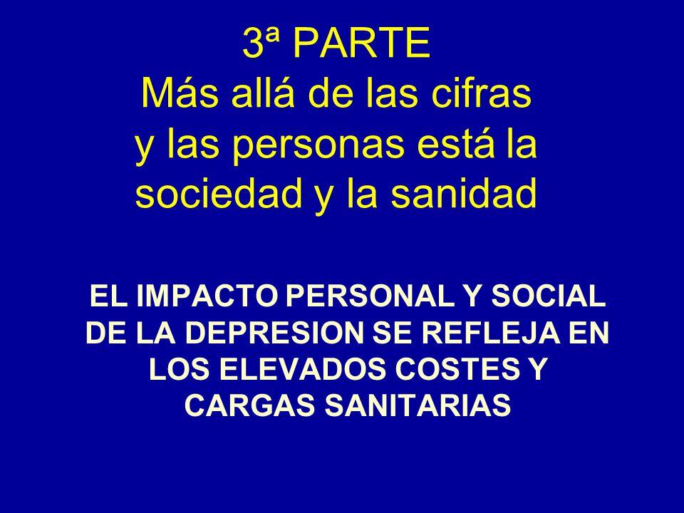 3ª PARTE Más allá de las cifras y las personas está la sociedad y la sanidad