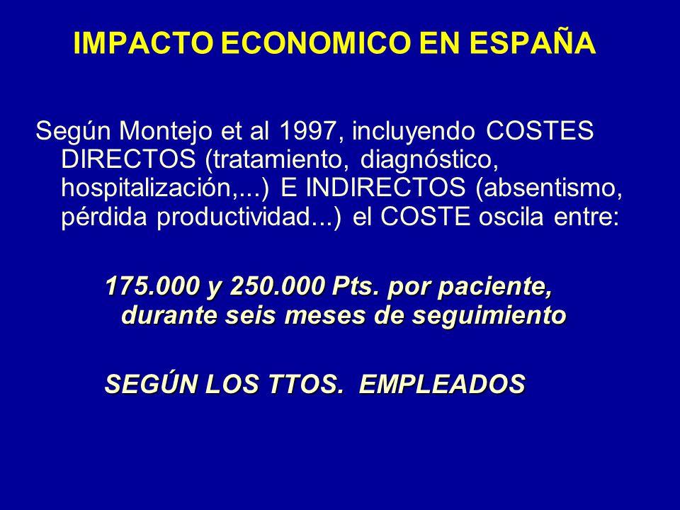 IMPACTO ECONOMICO EN ESPAÑA
