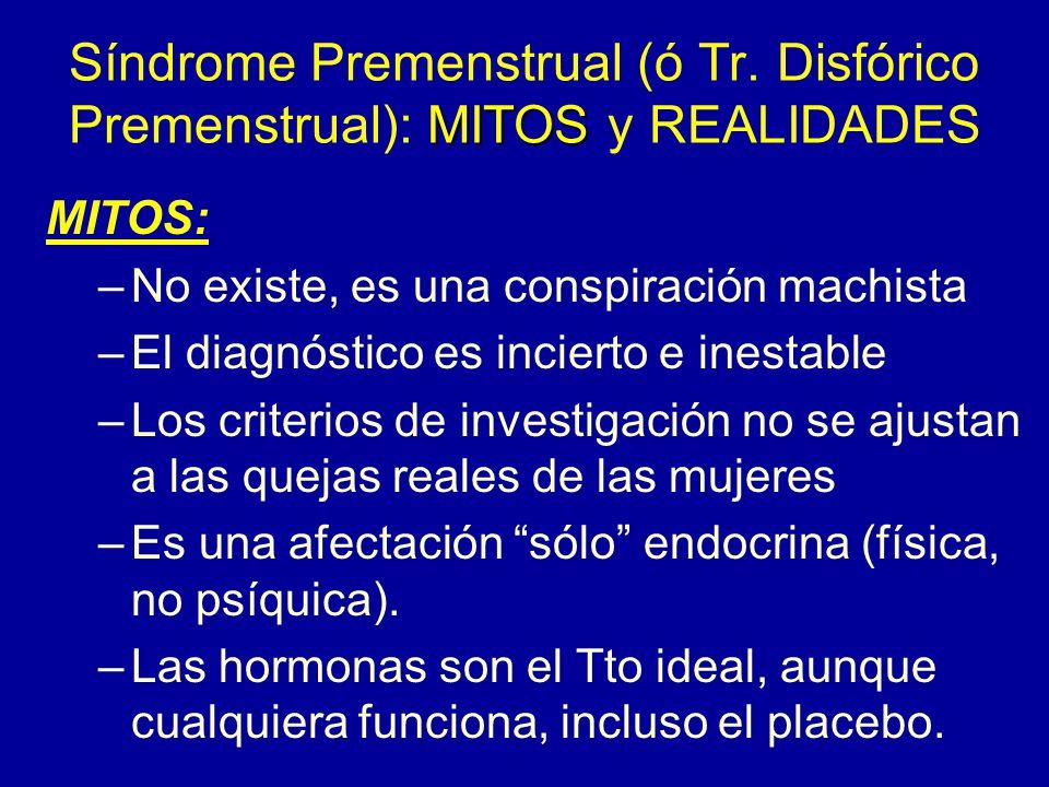 Síndrome Premenstrual (ó Tr