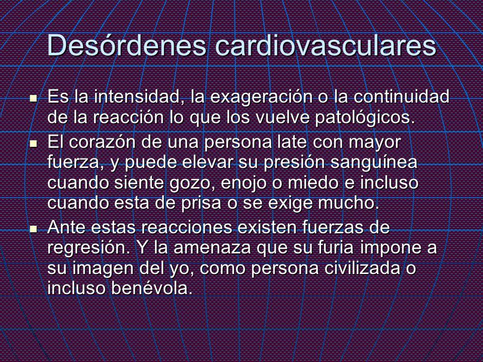 Desórdenes cardiovasculares