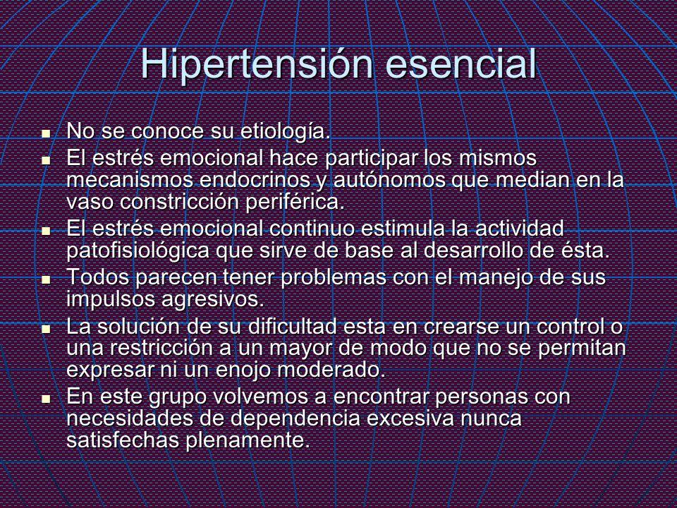 Hipertensión esencial