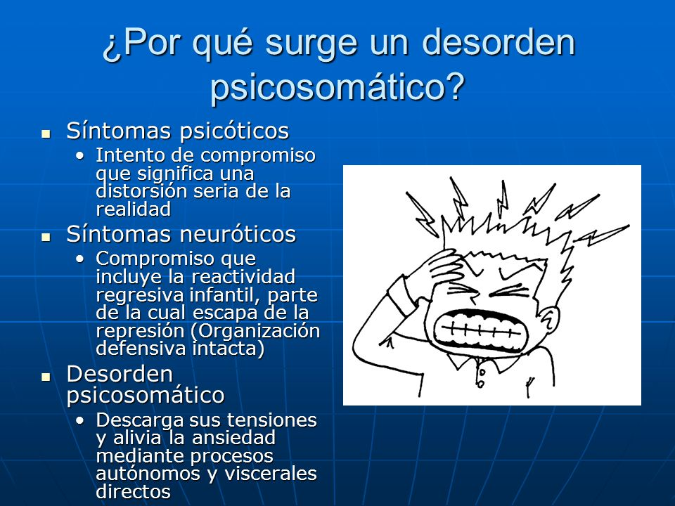 ¿Por qué surge un desorden psicosomático