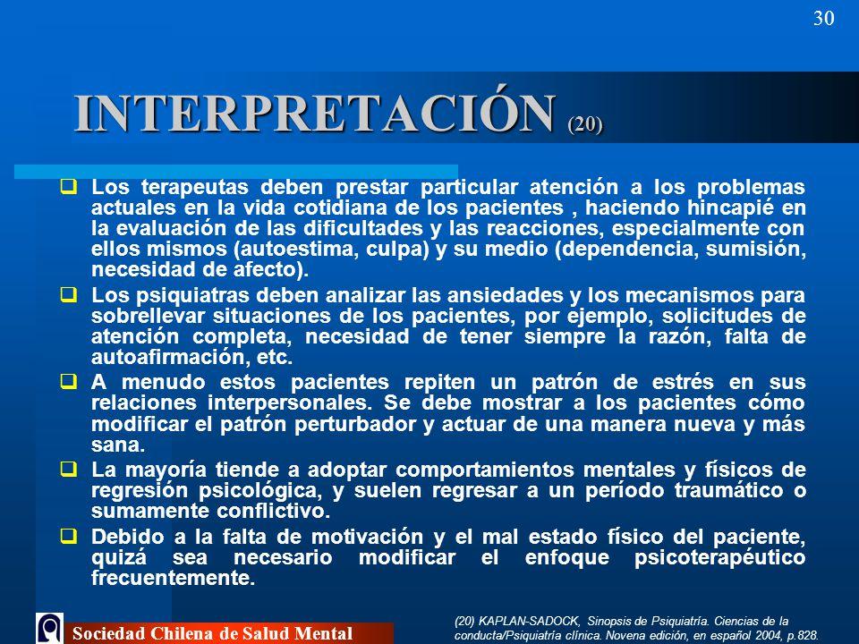 INTERPRETACIÓN (20)