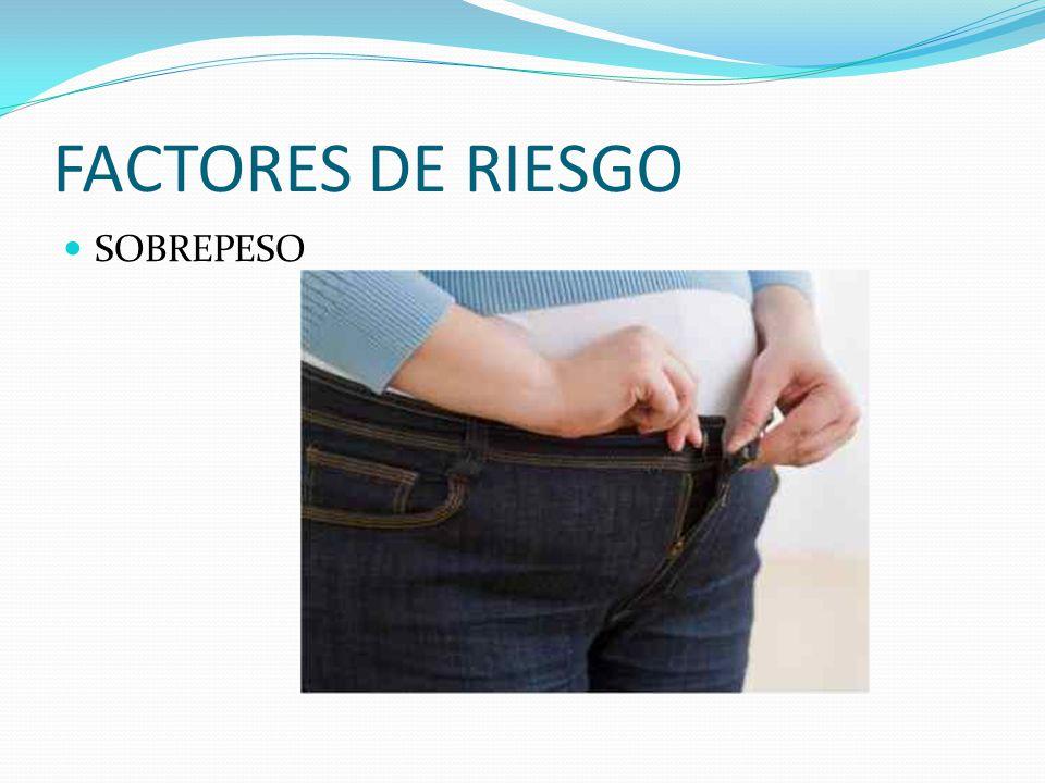 FACTORES DE RIESGO SOBREPESO
