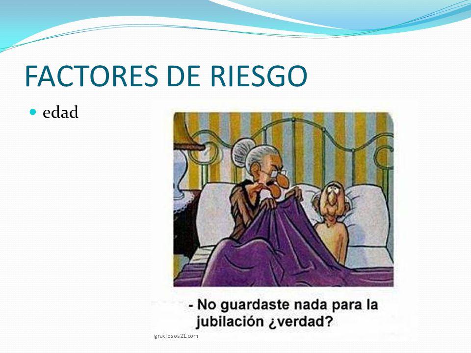 FACTORES DE RIESGO edad