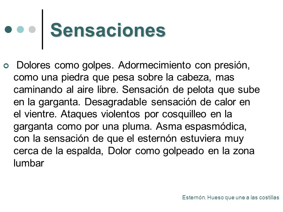 Sensaciones