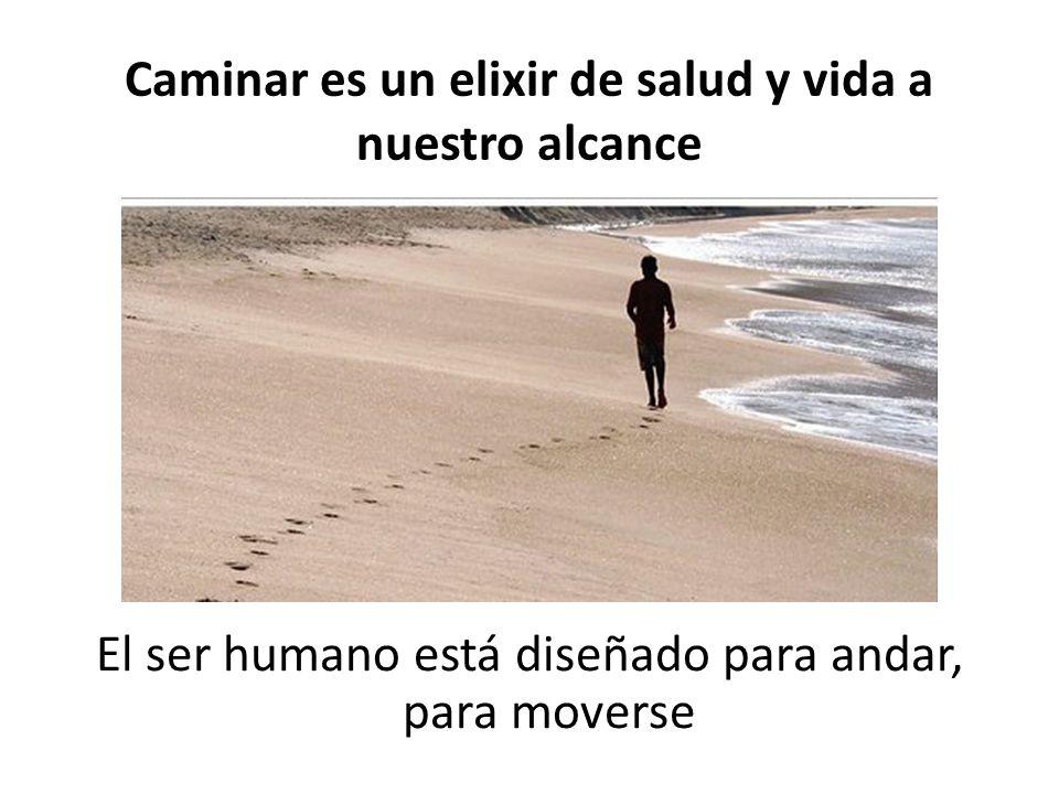 Caminar es un elixir de salud y vida a nuestro alcance