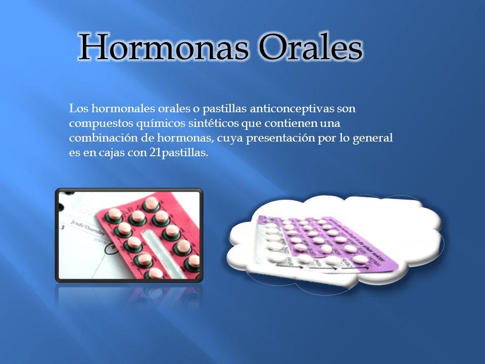Hormonas Orales