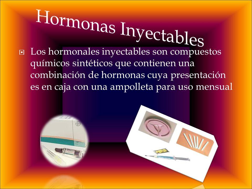 Hormonas Inyectables