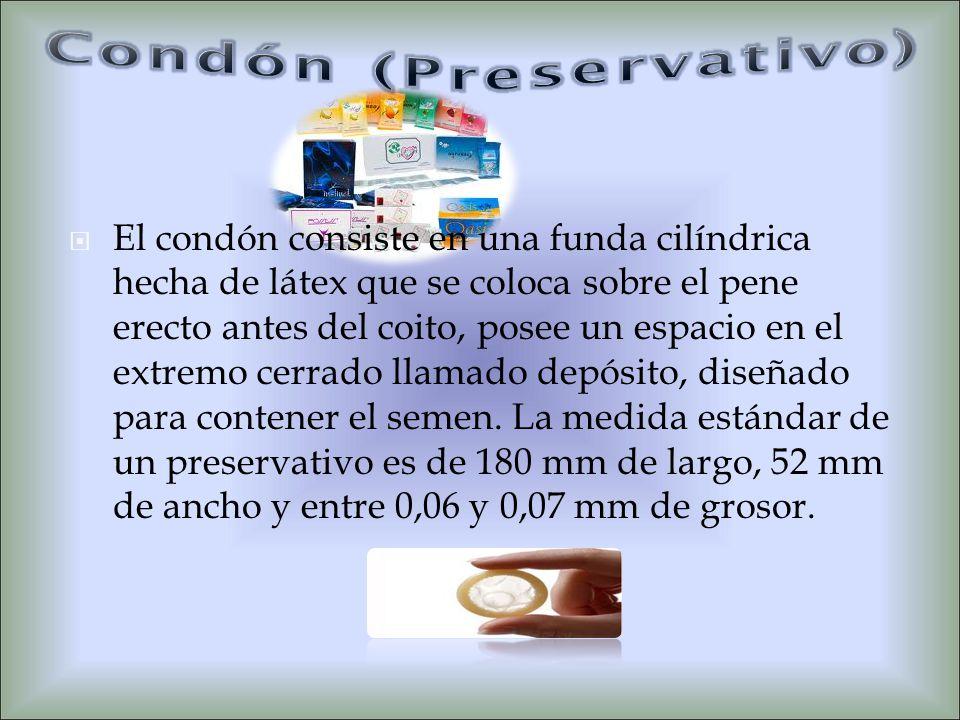 Condón (Preservativo)