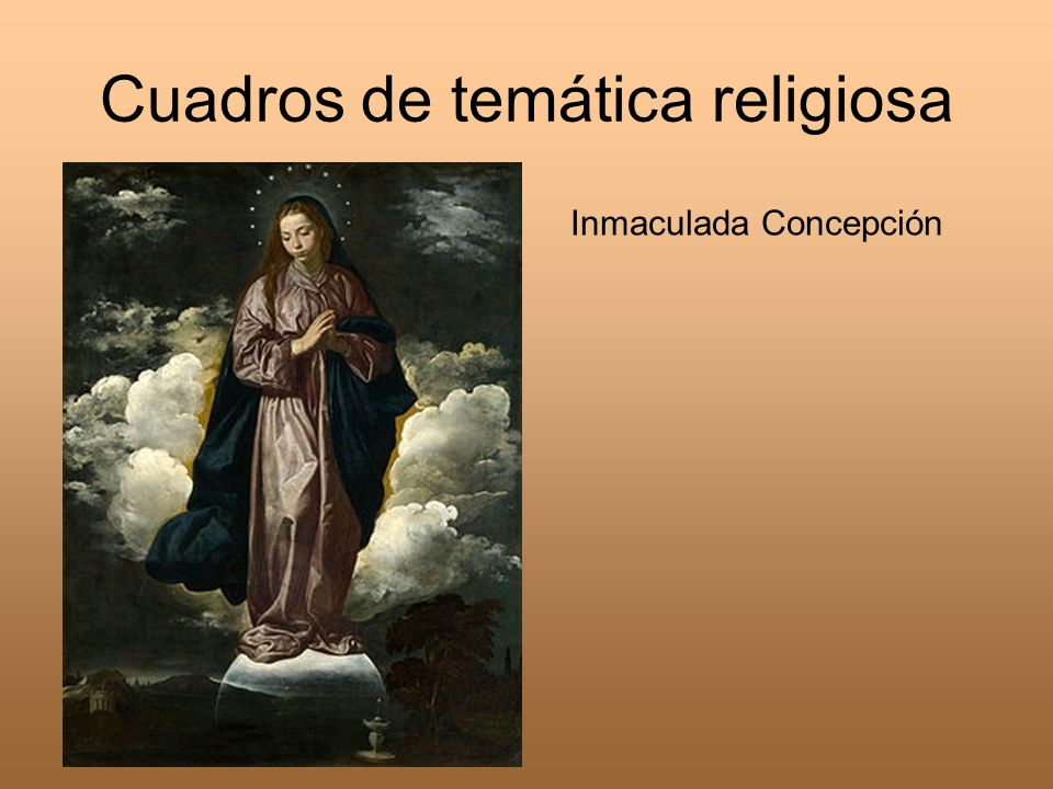 Cuadros de temática religiosa